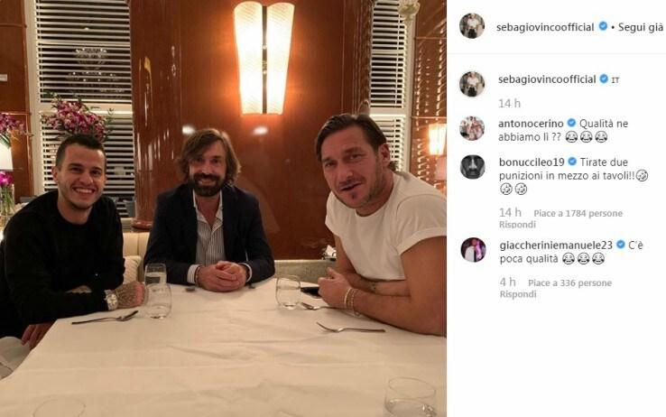 Giovinco, Pirlo, Totti
