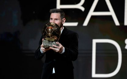 Classifica Pallone d'Oro: Messi vince per 7 punti