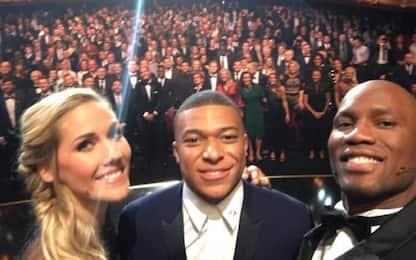 """Drogba, selfie con Mbappé: """"Ho saldato un debito"""""""
