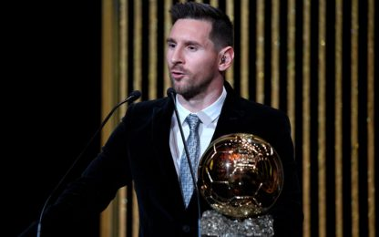 "Messi: ""Pallone d'Oro? Bello aver staccato CR7"""