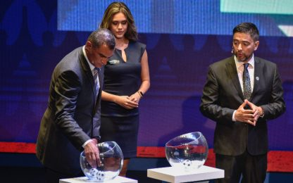 Copa America 2020, sorteggiati i due gironi