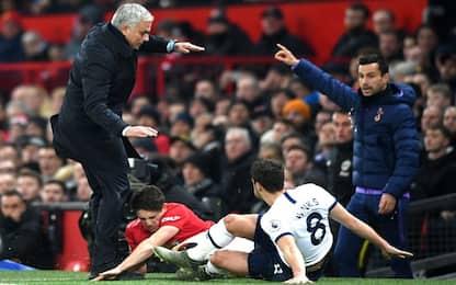 James subisce fallo... poi abbatte Mourinho. VIDEO