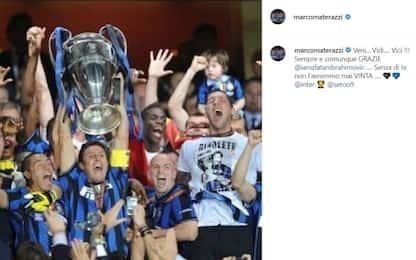 """Materazzi attacca Ibra: """"Champions è merito tuo!"""""""