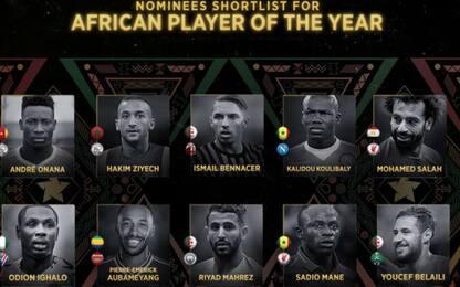 Pallone d'Oro africano, 10 candidati: c'è Bennacer
