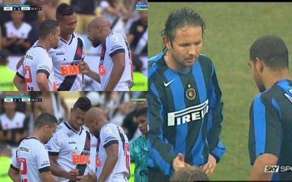 Guarin, morra cinese come Miha&Adriano. VIDEO