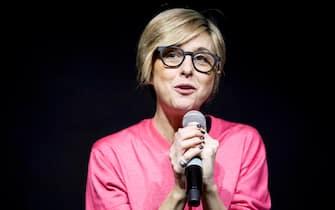 MILAN, ITALY - MARCH 10:  Italian journalist Nadia Toffa attends 'Tempo Di Libri' book show on March 10, 2018 in Milan, Italy.  (Photo by Rosdiana Ciaravolo/Getty Images)