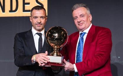"""Mendes: """"Cristiano meritava il Pallone d'Oro"""""""
