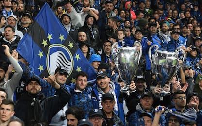 I club più cresciuti sui social: Atalanta 4^