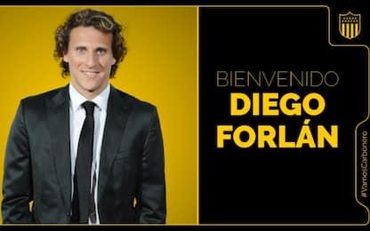 Forlan, nuova vita in panchina: guiderà il Peñarol