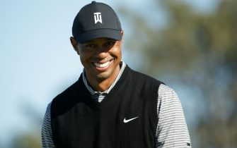 SAN DIEGO, CALIFORNIA - JANUARY 25: Tiger Woods walks along the fairway on the North Course during the second round of the 2019 Farmers Insurance Open at Torrey Pines Golf Course on January 25, 2019 in San Diego, California.  (Photo by Jeff Gross/Getty Images)