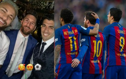 Neymar, Messi e Suarez: rimpatriata su Instagram