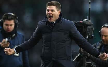Rangers, 2-1 al Celtic: Gerrard nella storia