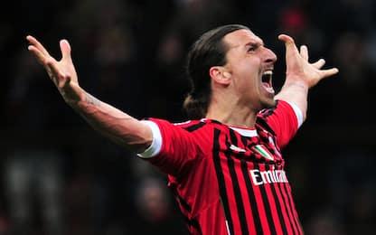 Media gol al Milan, Ibra 3° nella storia rossonera