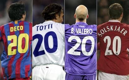 20 (numeri) 20 nella storia del calcio
