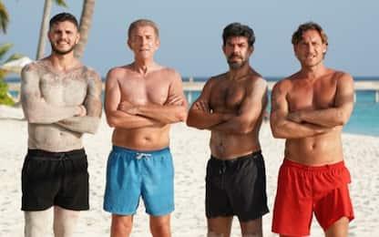 Totti-Icardi, match a beach volley alle Maldive