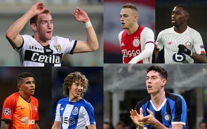Kulusevski e non solo: i 50 talenti secondo l'Uefa