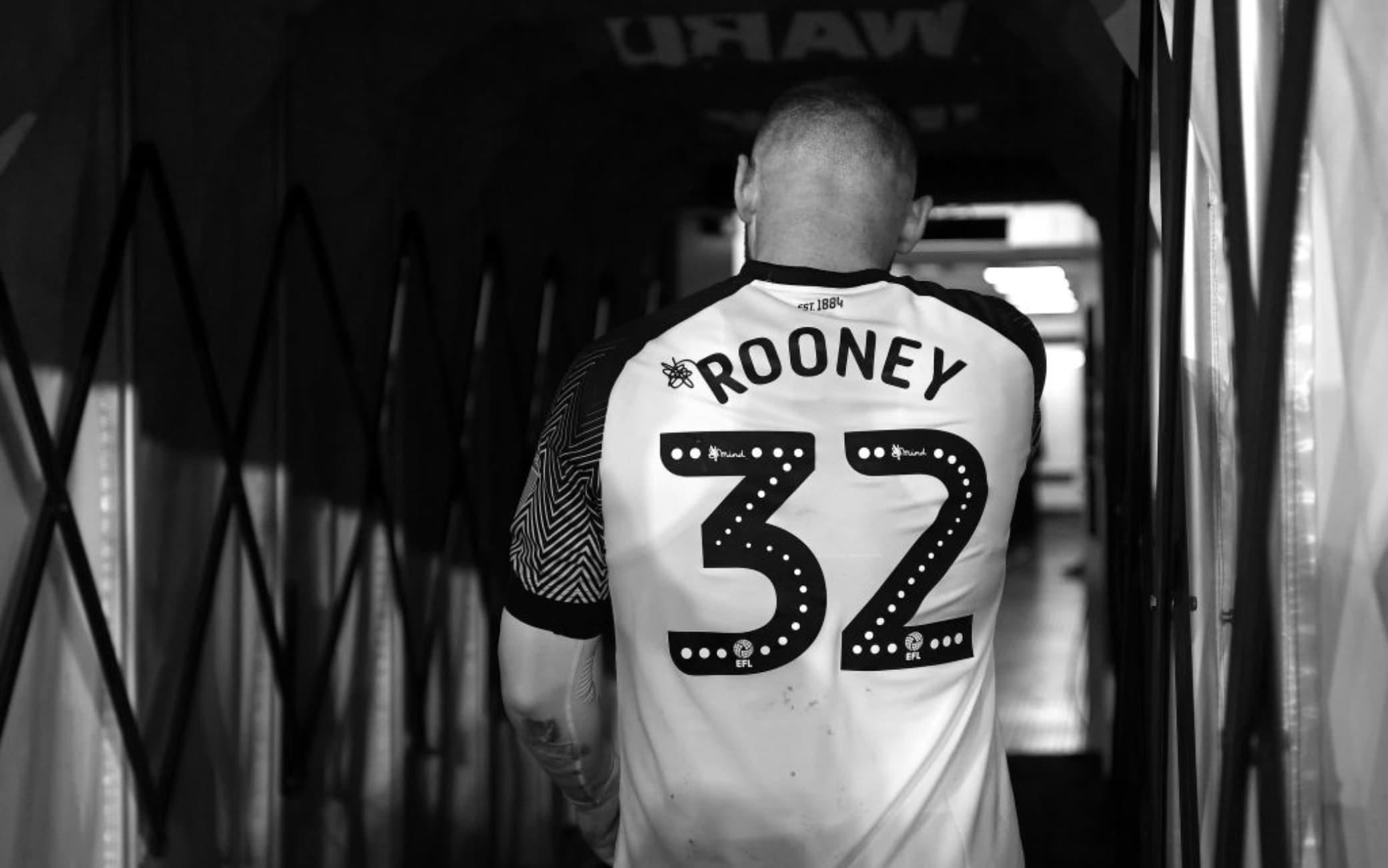 Rooney nel tunnel del Pride Park