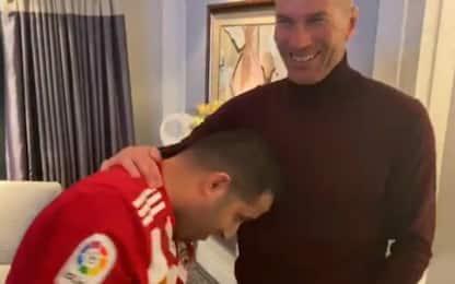 Almeria, testata scherzosa del presidente a Zidane