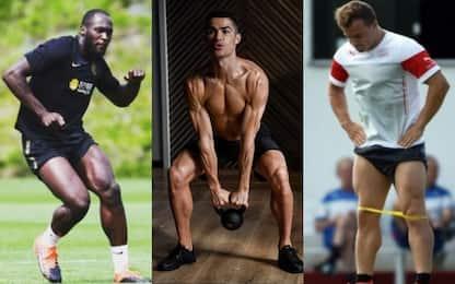 Da Lukaku a Ronaldo: calciatori o culturisti? FOTO