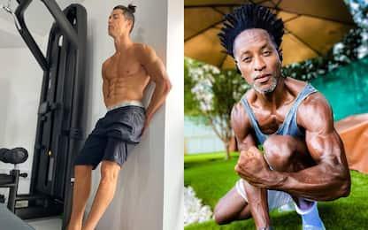 Zé Roberto, che muscoli: calciatori o culturisti?