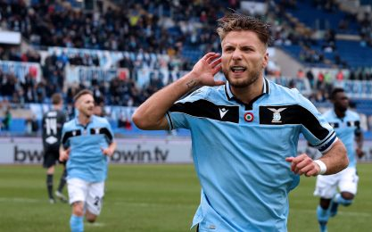 Scarpa d'Oro, la classifica: Immobile 'allunga'
