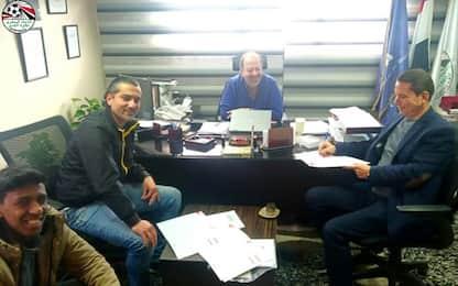 Egitto, acquistato calciatore più anziano al mondo