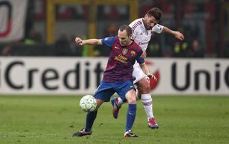 Milan vs Barcellona - Quarti di finale UEFA Champions League
