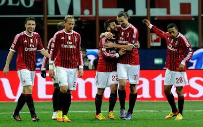 Ibra-Nocerino e le migliori coppie gol 2011-12