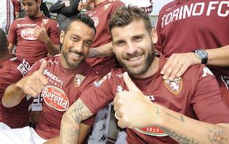 Backstage foto squadra Torino Fc stagione 2014 2015 - Stadio Olimpico di Torino