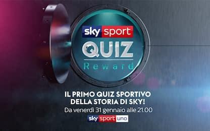Sky Sport Quiz Reward: vi mettiamo alla prova