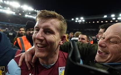 Coppa di Lega, finale Aston Villa: tifosi in campo