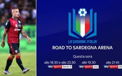 La Giovane Italia: Road to Sardegna Arena