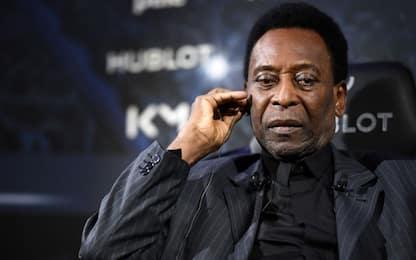 """Figlio Pelé: """"Papà depresso, non esce di casa"""""""