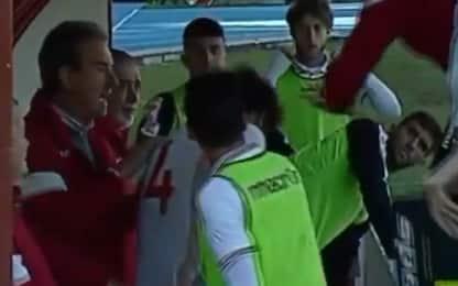 Schiaffo a giocatore: espulso allenatore Grosseto