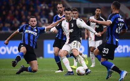 Lega A: 5 partite a porte chiuse, anche Juve-Inter
