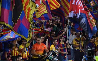 """""""Barcellona-Napoli di Champions a porte aperte"""""""