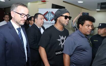 Passaporti falsi, nuovo fermo per Ronaldinho