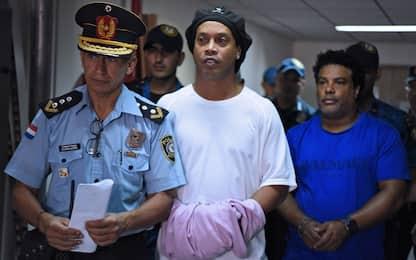 Ronaldinho scarcerato: ai domiciliari in Paraguay