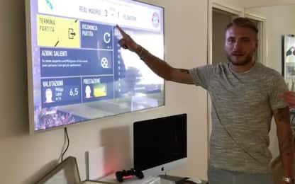I calciatori di Serie A si sfidano online su Sky