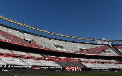 Paura da Coronavirus, River Plate chiude stadio
