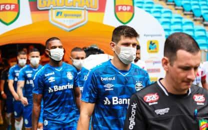 """""""Giocare con mascherine"""": la proposta dal Belgio"""