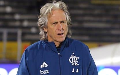 Brasile, positivo l'allenatore del Flamengo