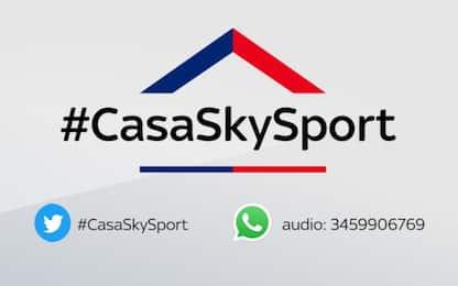 #CasaSkySport: ospiti Dovi, Tortu e Paltrinieri