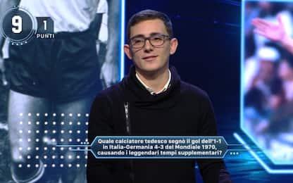 Sky Sport Quiz, Luca porta l'Italia ai Mondiali