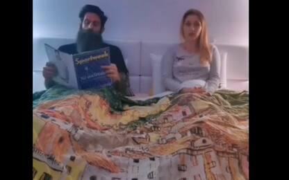 I Moscardelli come Sandra e Raimondo. VIDEO