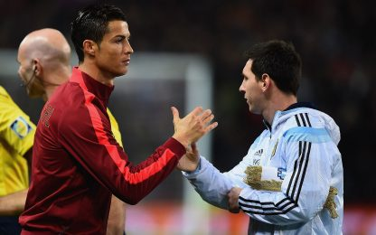 I magnifici 12: chi ha giocato con CR7 e Messi?