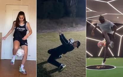 Pogba contro Ibra: super sfida di freestyle. VIDEO