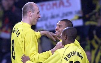 SOCCER-UEFA CUP-DORTMUND VS AC MILAN-JUBO