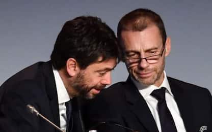 """Agnelli-Ceferin: """"Chiusura campionati è prematura"""""""