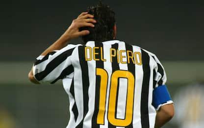 Tutte le maglie e i look di Alex Del Piero